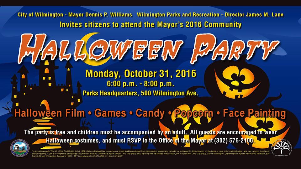 Mayor\'s 2016 Community Halloween Party   Events Calendar ...