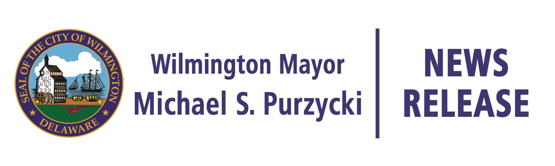 Mayor Michael S. Purzycki News Release Header