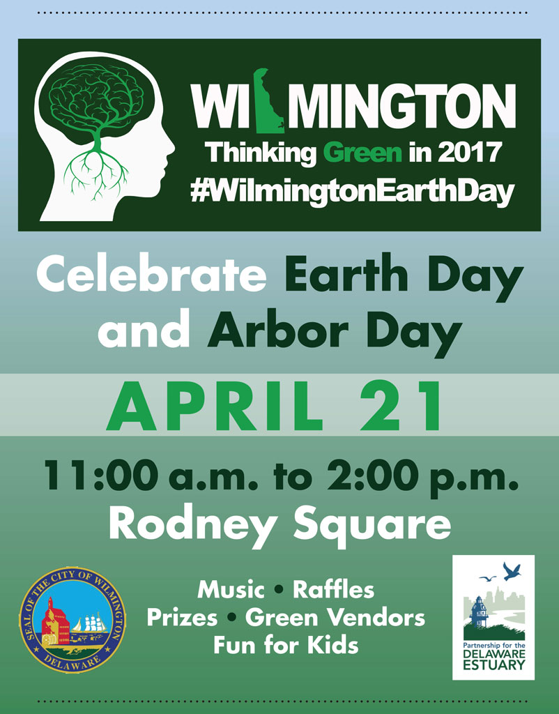 Wilmington Earth Day 2017 banner