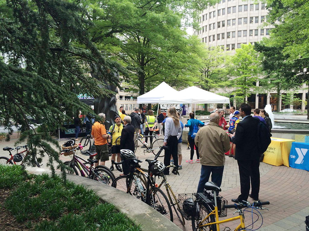 Wilmington Bike to Work Day 2016