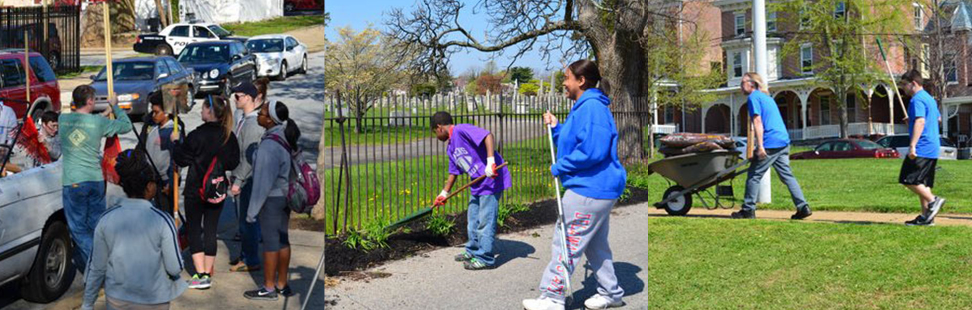 Adopt a block to help clean and beautify Wilmington's neighborhoods.