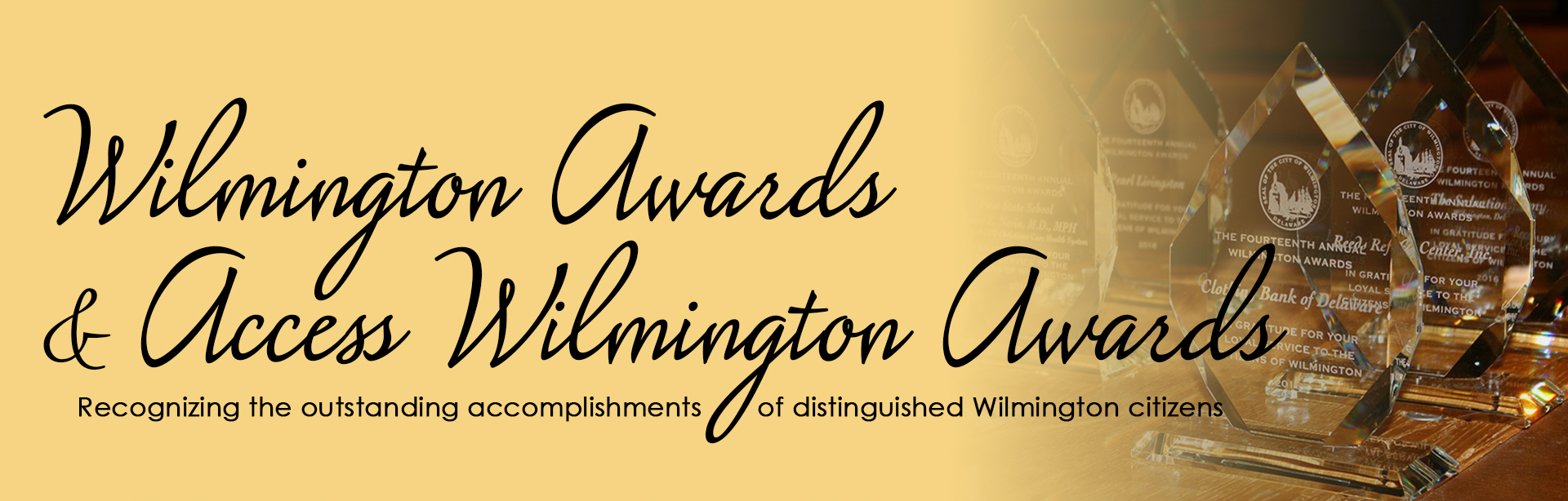 Wilmington Awards page banner