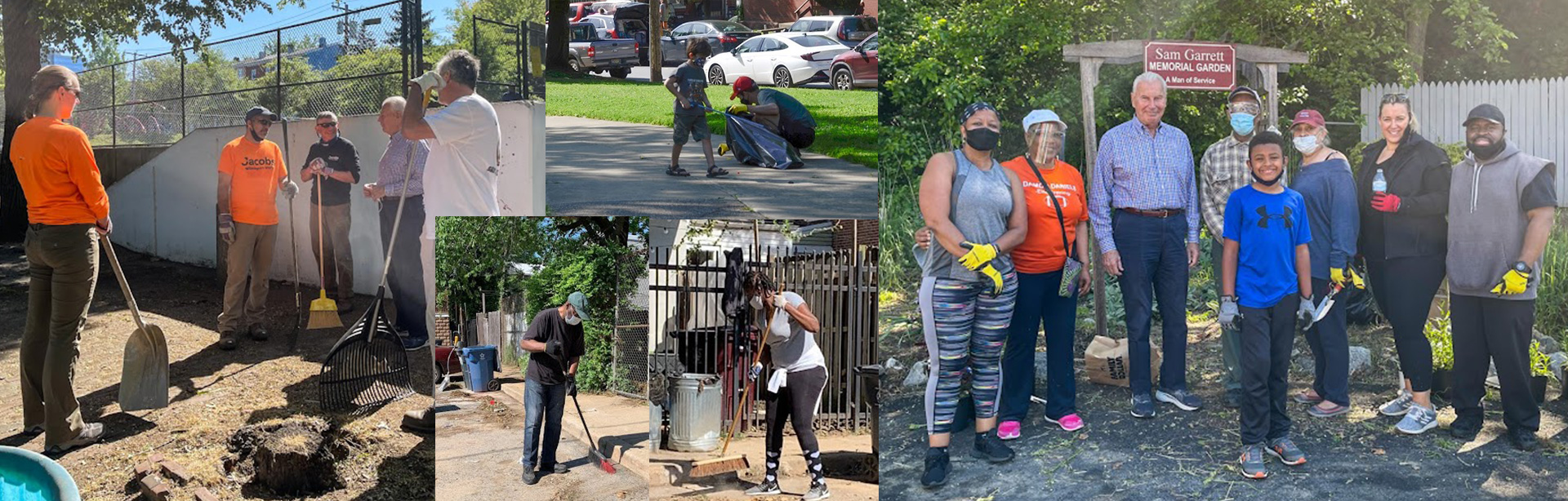 Community Cleanup Day is an annual event to encourage beautifying the city.