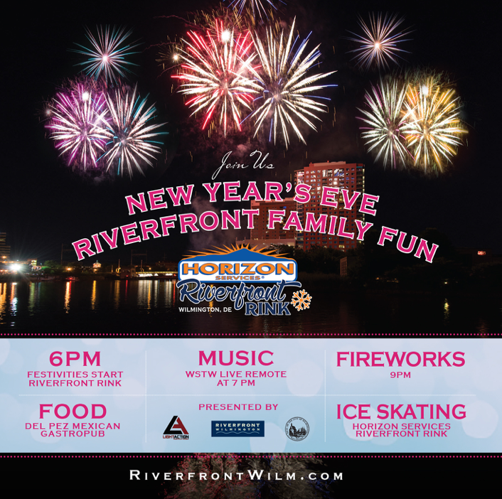 Horizon Riverfront Rink NYE Party