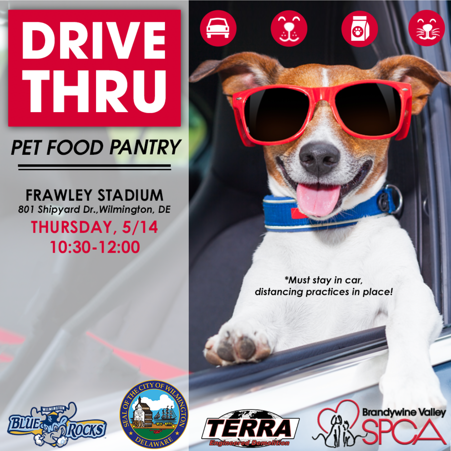 Drive Thru Pet Food Pantry Event Will Be Held In Wilmington On May 14 Wilmington De Patch