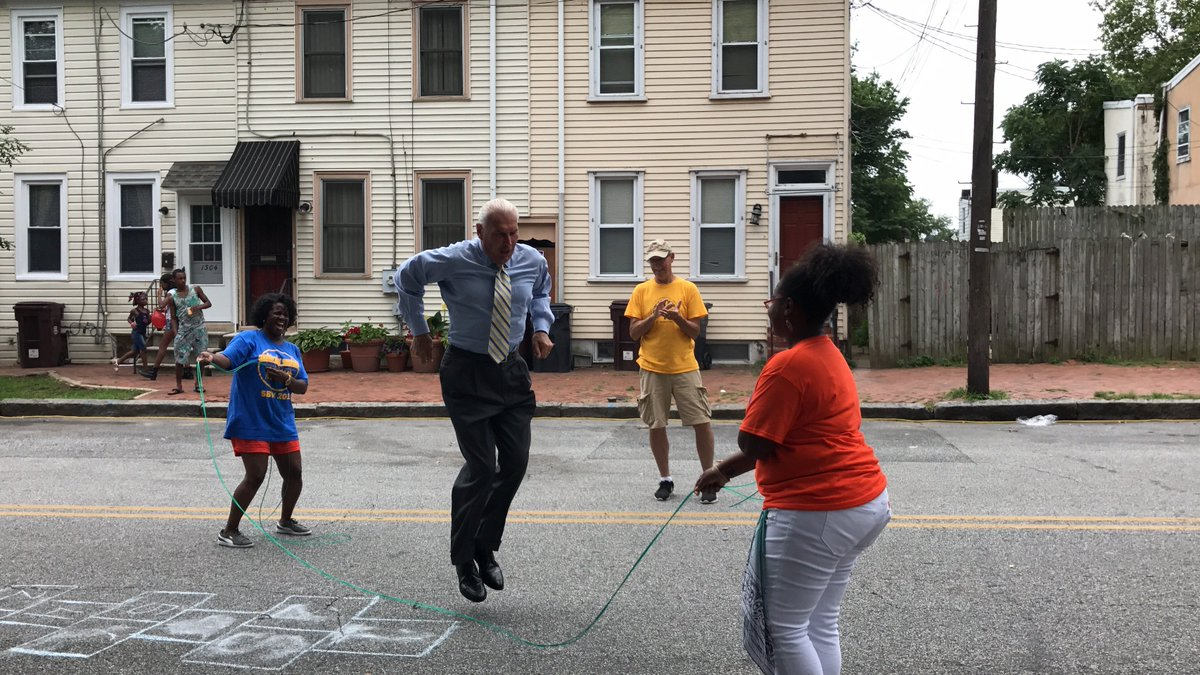 mayor during playstreets