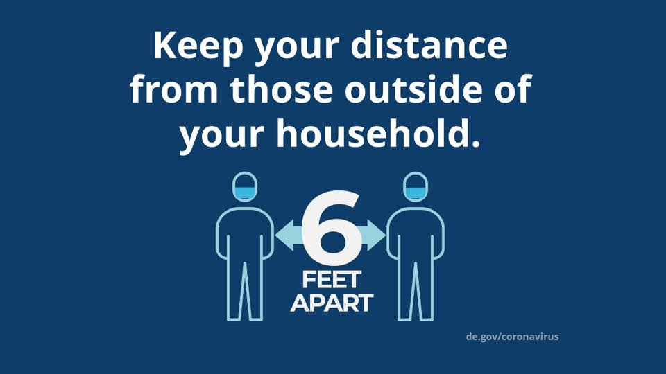 Keep your Distance graphic