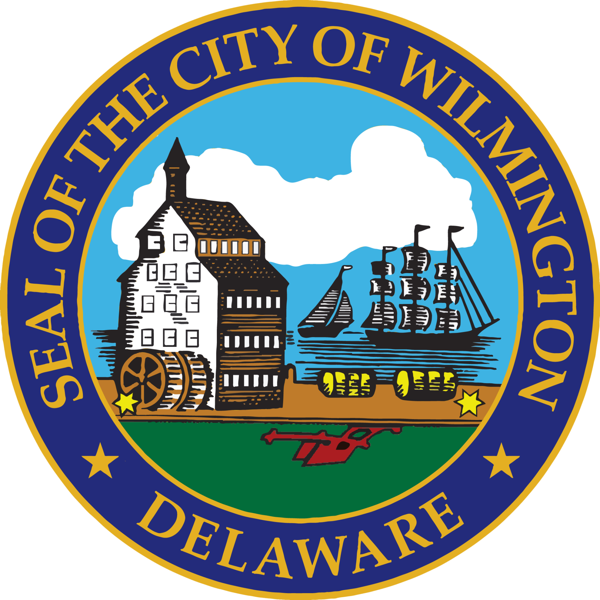 Official City of Wilmington color seal
